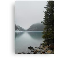Lake Louise Mist Canvas Print