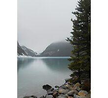 Lake Louise Mist Photographic Print
