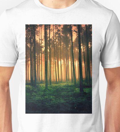 Dark forest 01 Unisex T-Shirt