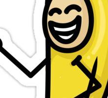When you love bananas so much... Sticker