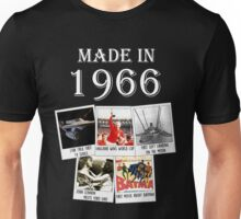 Made in 1966, main historical events Unisex T-Shirt