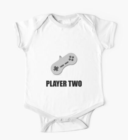 Player Two One Piece - Short Sleeve