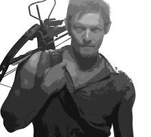 Daryl Dixon - Walking Dead by shaunsaliba