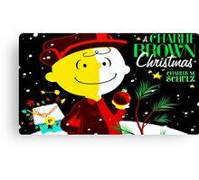 CHARLIE BROWN CHRISTMAS 25 Canvas Print
