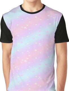 Pink and blue stripes Graphic T-Shirt