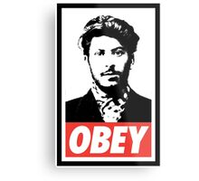 OBEY Hipster Stalin Metal Print