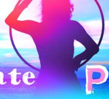 Radiate PEACE Hooper Silhouette Sticker