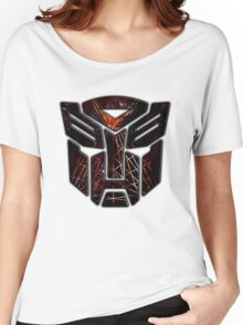 Autobots Abstractness Women's Relaxed Fit T-Shirt