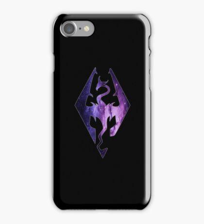 Pink Purple Galaxy Seal of Akatosh iPhone Case/Skin