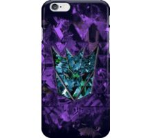 Decepticons Abstractness iPhone Case/Skin