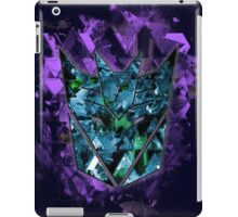 Decepticons Abstractness iPad Case/Skin