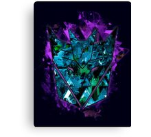 Decepticons Abstractness Canvas Print