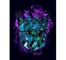 Decepticons Abstractness Photographic Print