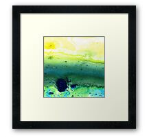 Green Abstract Art - Life Song - By Sharon Cummings Framed Print