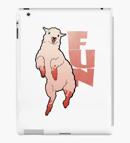 Funny Lamb iPad Case/Skin