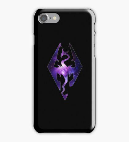 Purple Galaxy Seal of Akatosh iPhone Case/Skin