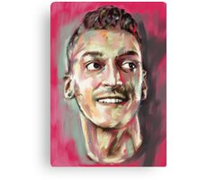 Mesut Ozil - Arsenal Genius Canvas Print