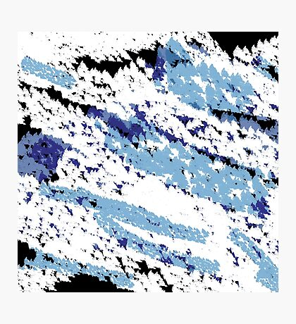 Abstract - Distracted Photographic Print