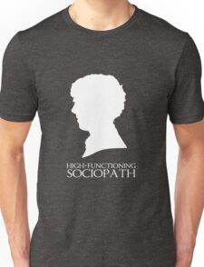 High-Functioning Sociopath - White T-Shirt