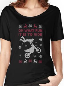 Oh What Fun It Is To Ride Women's Relaxed Fit T-Shirt