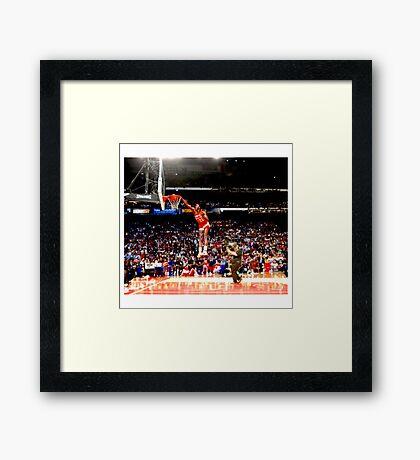NBA - Dominique Wilkins Framed Print