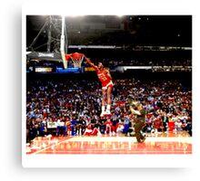 NBA - Dominique Wilkins Canvas Print