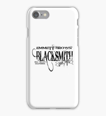 Doc Brown Blacksmith iPhone Case/Skin