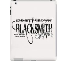 Doc Brown Blacksmith iPad Case/Skin
