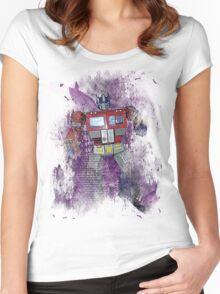 G1 - Optimus Prime Women's Fitted Scoop T-Shirt