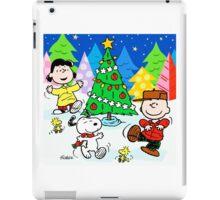 CHARLIE BROWN CHRISTMAS 27 iPad Case/Skin