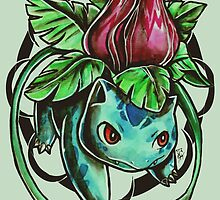 Ivysaur by retkikosmos
