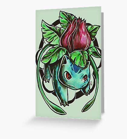 Ivysaur Greeting Card