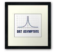 Dat Asymptote Framed Print