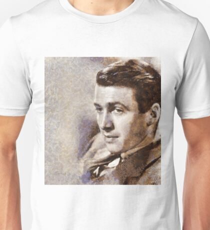 Jimmy Stewart Hollywood Actor Unisex T-Shirt