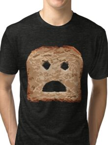 Angry Toast Tri-blend T-Shirt