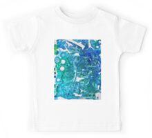 Sea Leaves, Environmental Love of the Ocean Blue Kids Tee