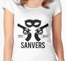 Sanvers Fight Club Women's Fitted Scoop T-Shirt