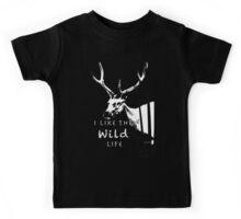 I Like The Wild Life Kids Tee