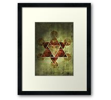 Sacred Geometry for your daily life Framed Print