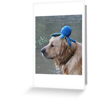 """Udens """" What do you mean something is on my head?"""" Greeting Card"""