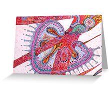 imaginal energy Greeting Card