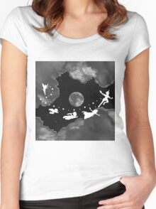Peter Pan Could Women's Fitted Scoop T-Shirt
