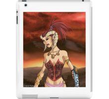 Horned Girl iPad Case/Skin
