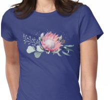 Protea Posy Womens Fitted T-Shirt