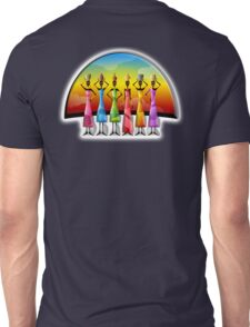 Africa, African, Women, Water bearers, Sunset, Colorful, Unisex T-Shirt