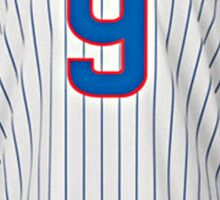 Chicago Cubs Baez Jersey  Sticker