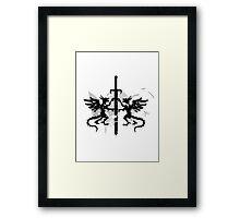 Dragons  Sword Framed Print