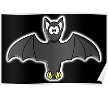 Bat, Cartoon, Halloween, Dracula, Vampire, Horror Poster