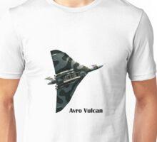 Avro Vulcan - white background Unisex T-Shirt