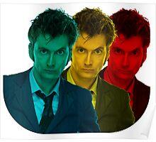 David Tennant colours Poster